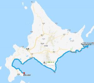 北海道ツーリング 強行三日目