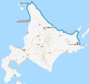 北海道ツーリング 強行二日目