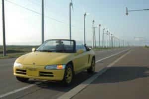 ビート北海道ツーリング_車