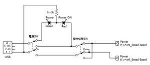 Bred Bord電源回路図