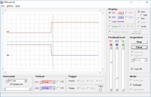 USB簡易オシロ(データロガー)_0.5Sec-Div