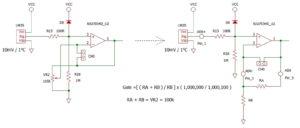 LM35入力回路図